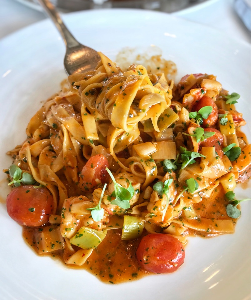Tagliatelle With Maine Lobster ($38++)