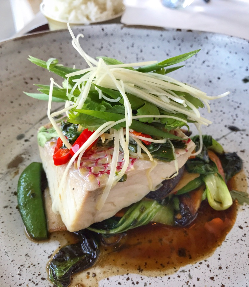 Steamed Red Snapper (choice of main in $45++ 3-course Daily Set Lunch)