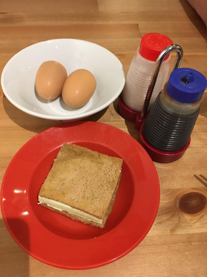 kaya toast - not!