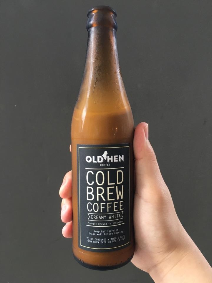 Old Hen's Creamy White Cold Brew Coffee