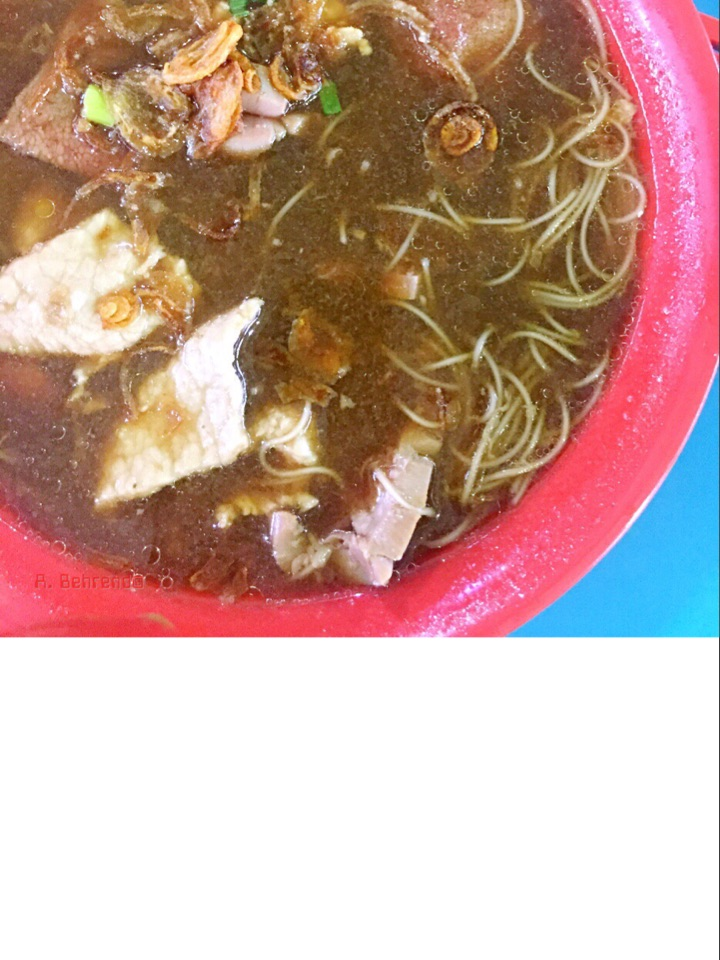 Mee Sua With Pork Kidney