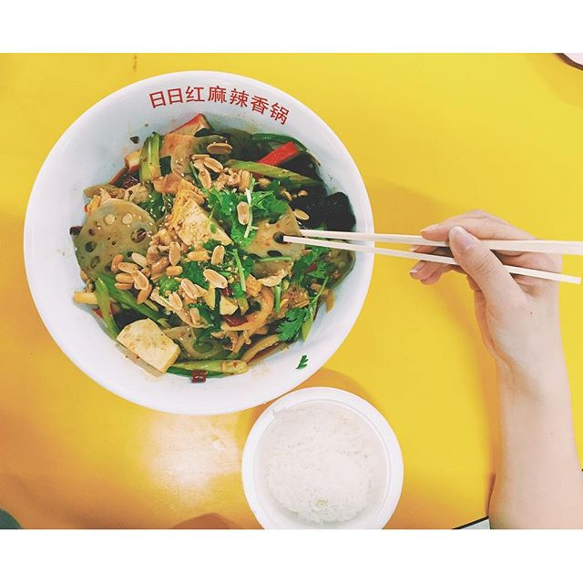 [Mala Xiang Guo]  Craving for some 🔥 in the tummy after a day filled with super soaking action.