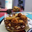 [Happy Chef Western Foods] Deep fried mushroom that taste similar to meat?