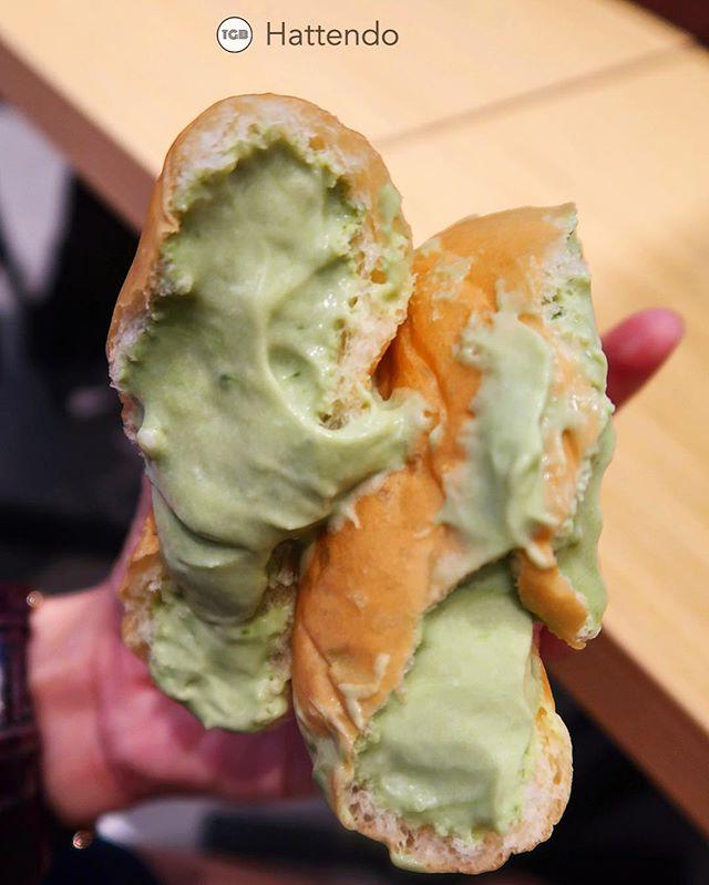 Matcha Cream Bun