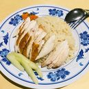 Roasted Chicken Rice from Jiao Hao Hainanese Chicken Rice  The amount of roasted chicken given here is plenty and flavourful, with some sweetness within the meat, great to have with the accompanying oily rice that was fragrant!