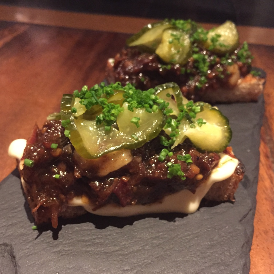 Beef Marmalade & Pickles ($14)