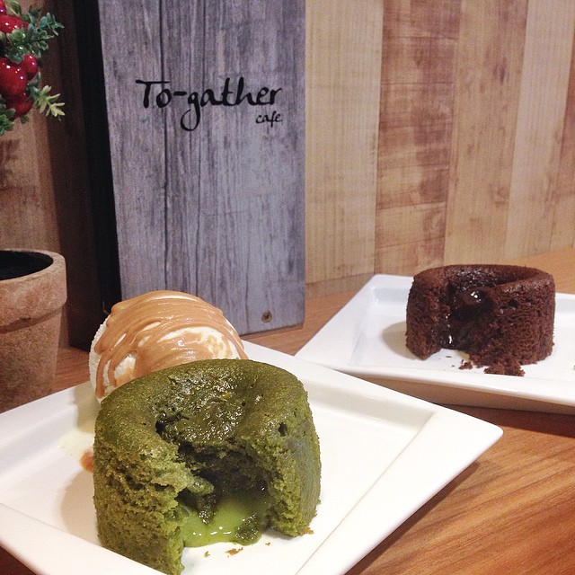 The lava cakes here are pretty affordable starting from $3.90 to $6.90 for Matcha Lava Cake w Ice Cream.