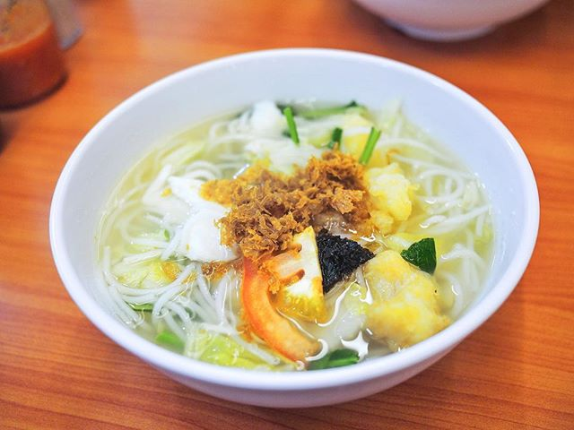 """Went into a """"fish soup"""" crazy mode last week, conquering 3 fish soup places in a week (2 regulars + 1 new)."""