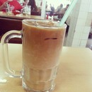 #onlyinkuching u find kopi c peng special which comes in 3 layers and also one the best ice coffee in town (kopitiam standard) for rm2 only.