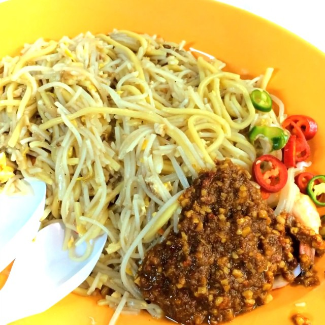 Singapore Fried Hokkien Mee (Whampoa Makan Place Block 90