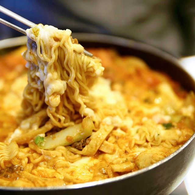 This is the weather for some Budae Jjigae.