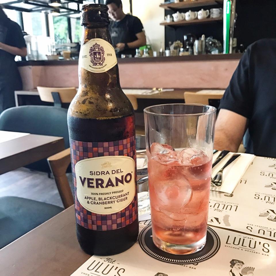 Cider ($18)