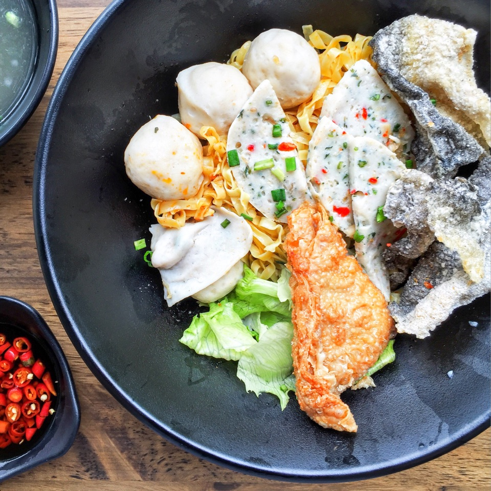 The story started with the grandmother's handmade fishballs and the rest was history.