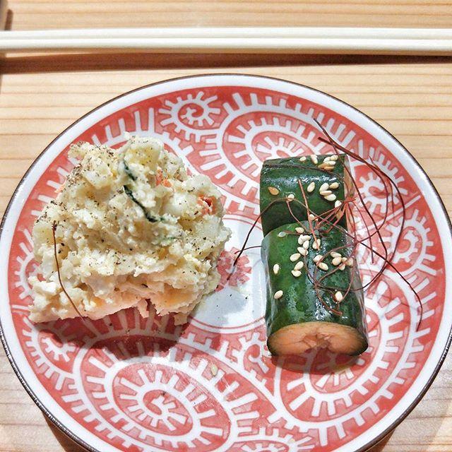 @pacamaru1 and I crashed @undercoverangmoh's birthday dinner with @amandamatildaa last night to indulge in a 9-course Teppenyaki Omakase meal.