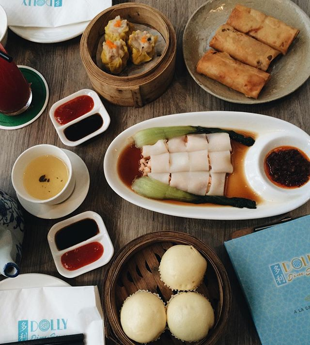 Dolly Dim Sum doesn't disappoint 👌🏻 Love the siew mai and prawn cheong fun!