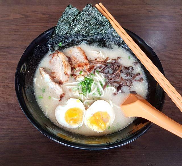 special tonkotsu ramen 👍 23.6.17 #foodporn #sgfoodporn #foodsg #sgfoodies #instafood #foodstagram #cafehoppingsg #sgcafefood #vscofood #burpple #hungrygowhere