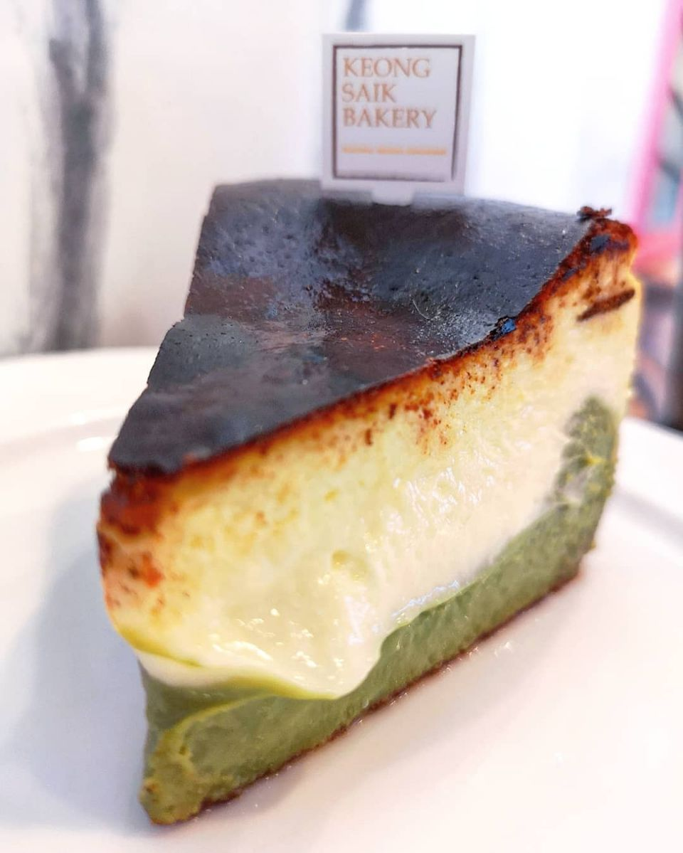 Two Faced Burnt Basque Cheesecake Uji Matcha 8 50