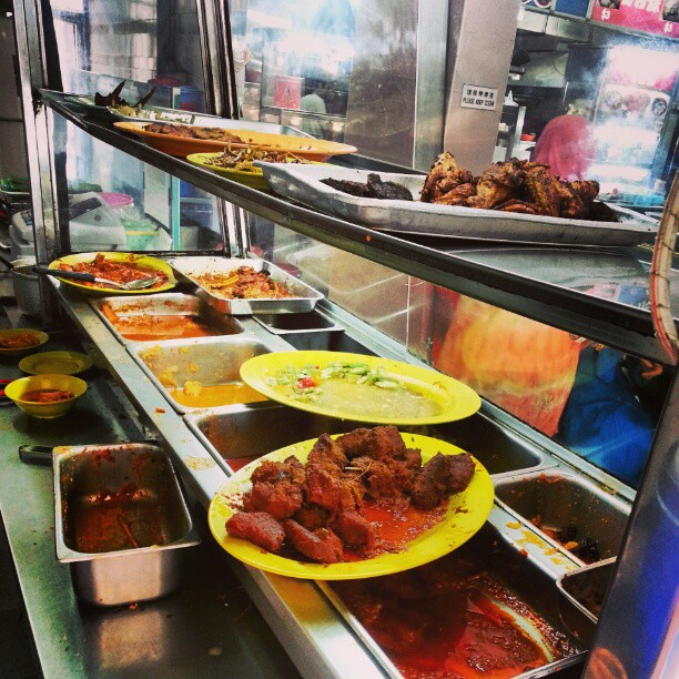 this Malay food is awesome.