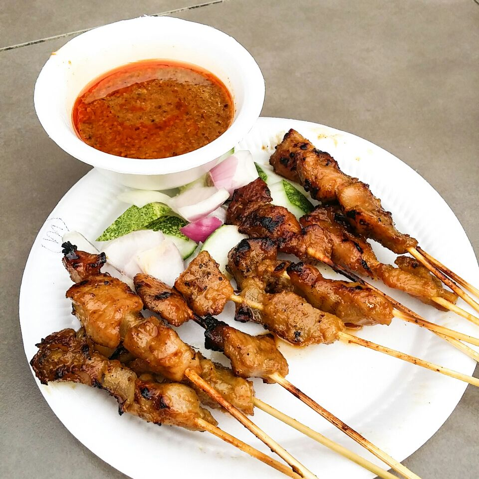 Chicken & Pork Satays