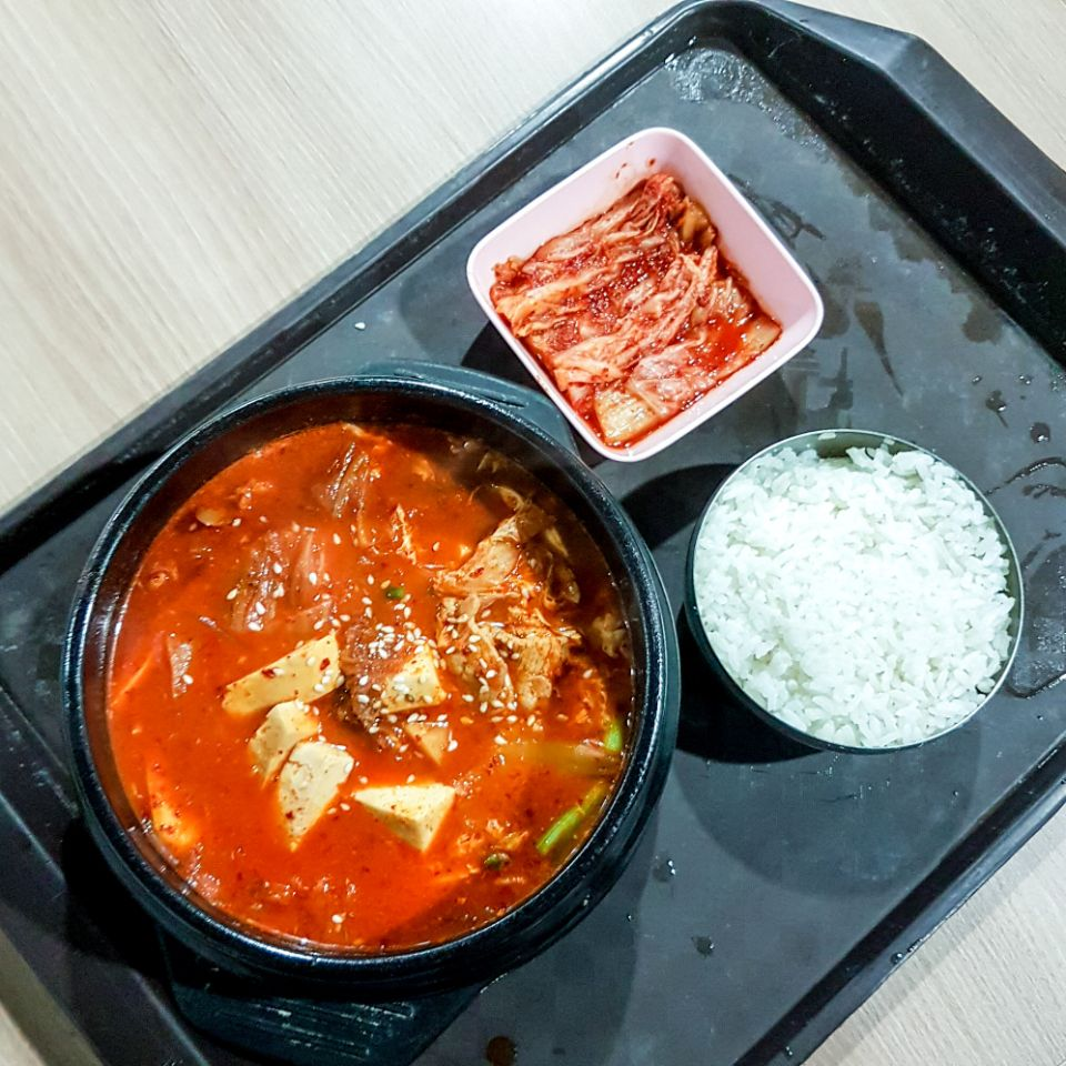 Kimchi Soup (Pork)