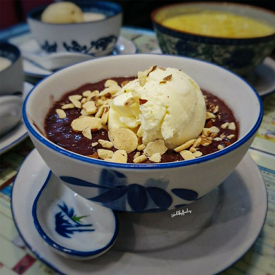 Must Try — Black Glutinous Rice Dessert | Burpple
