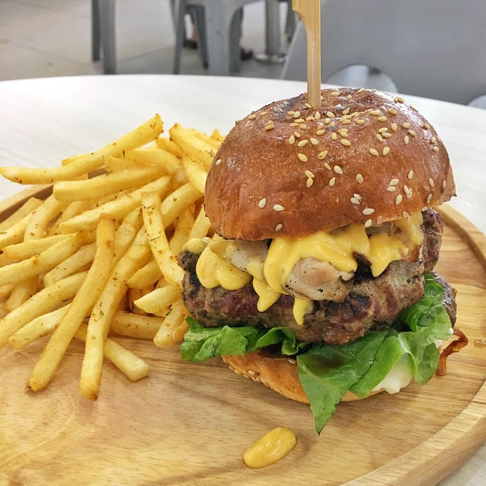 Beef Burger ($11)