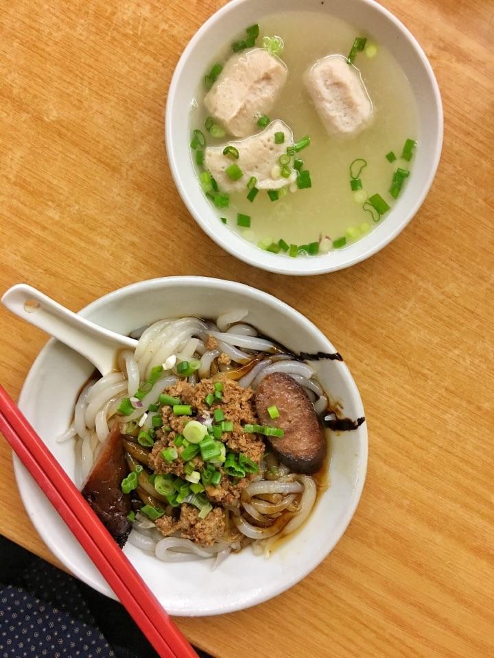 Pork Noodles (RM5.60)