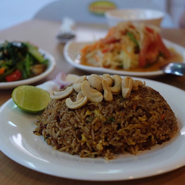 Black Olive Fried Rice ($5) .