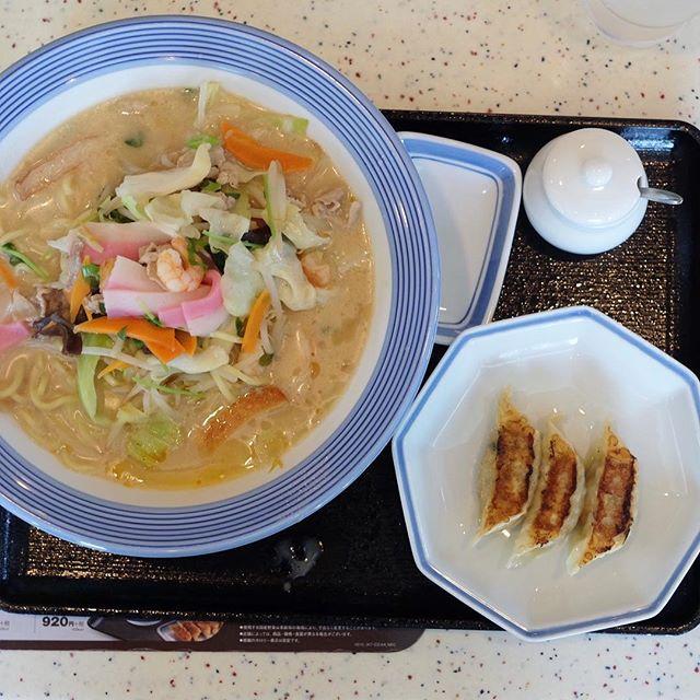 Champon Noodle (¥570) .
