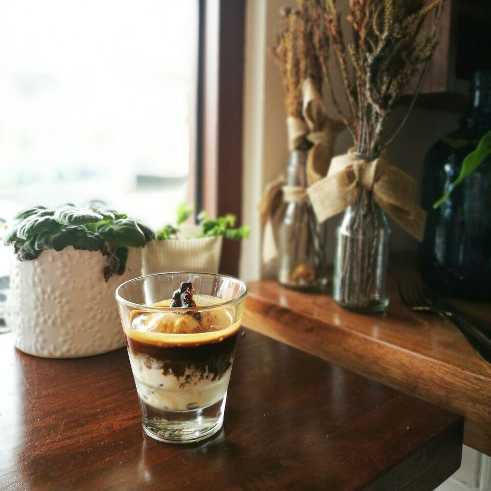 Espresso + Hokey Pokey Ice Cream