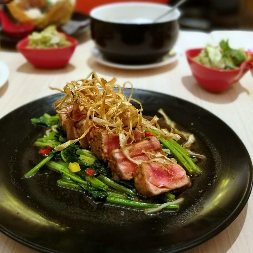 Pan Fried Tuna Steak