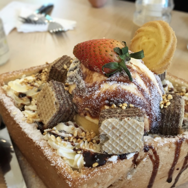 Honey Toast: Choco-Dip