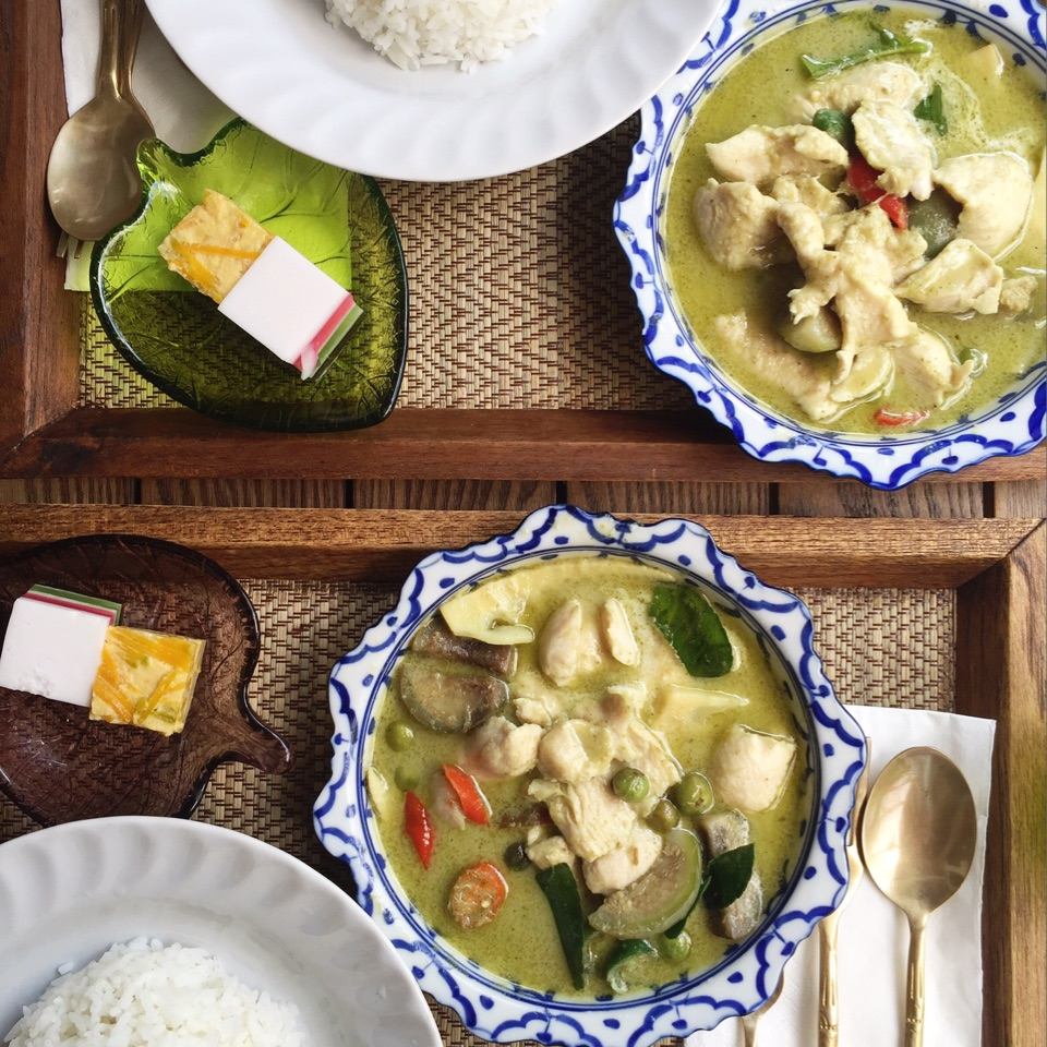 (Green) Curry In A Hurry