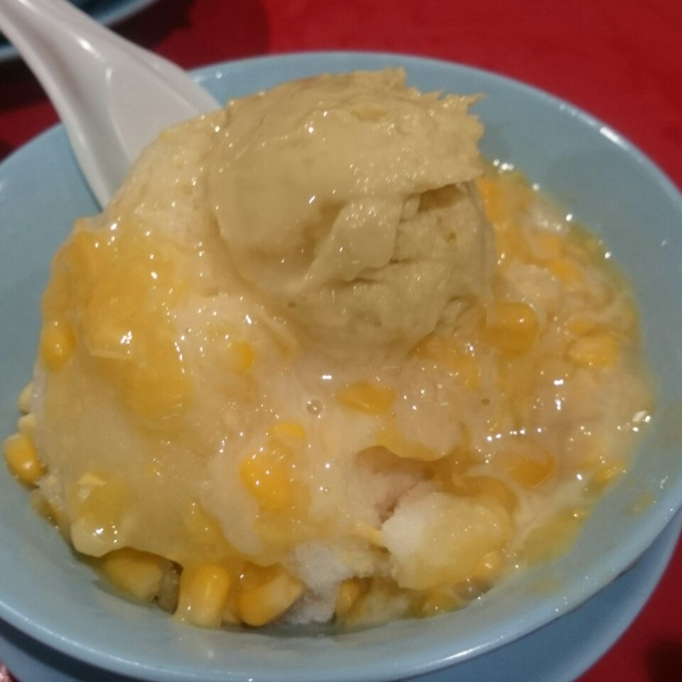 Off Menu Corn Durian!