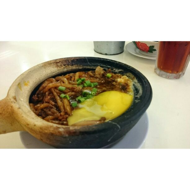 Claypot Lou Shi Fan (Rat Tail Noodle)