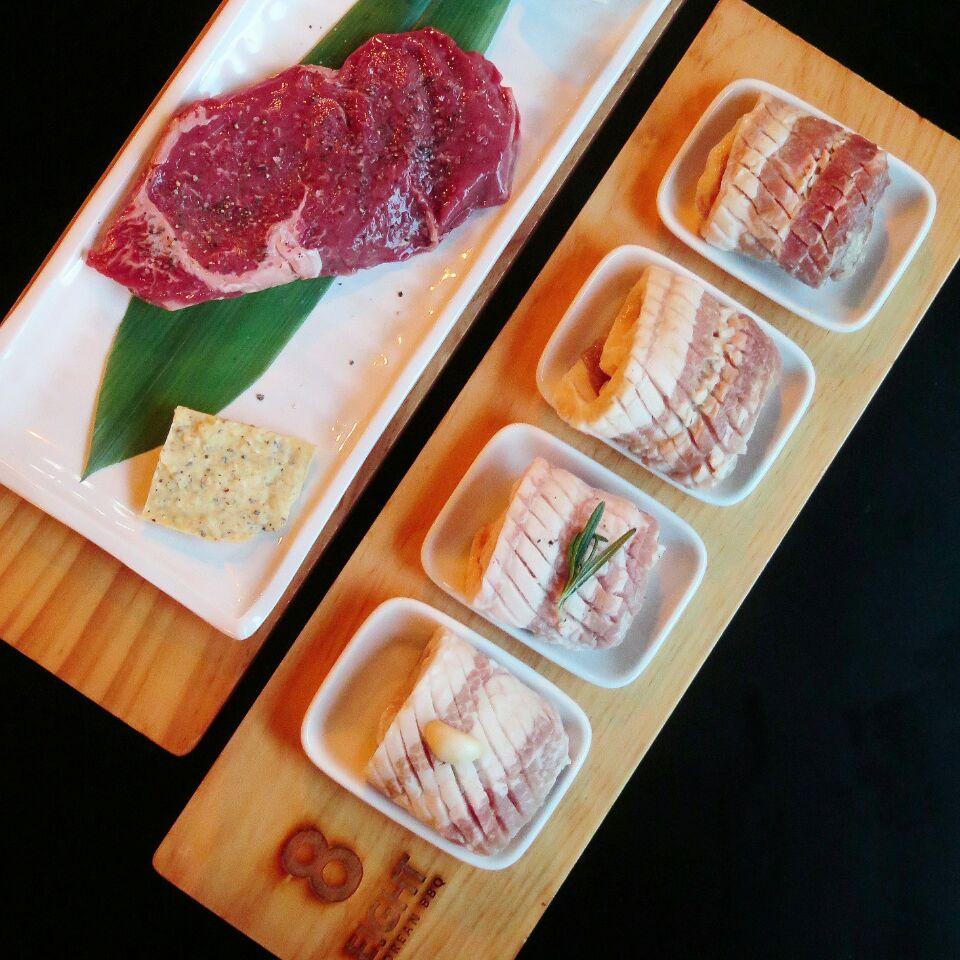 4 flavors mangalica pork set ($58) @