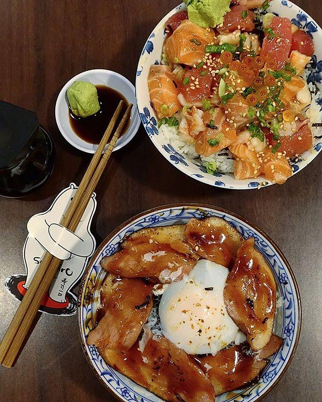 chirashi bowl @ sushiro