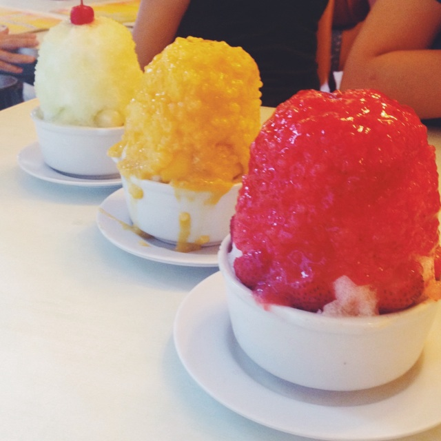 Fruit Sago Ice.