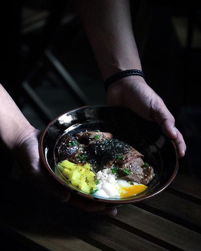 Senkaku Beef Donburi ( $18 ) .