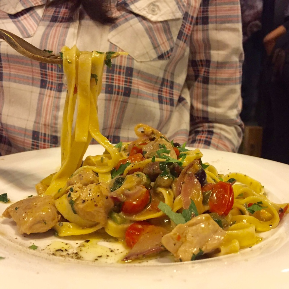 Tuna Pasta With Butter Sauce