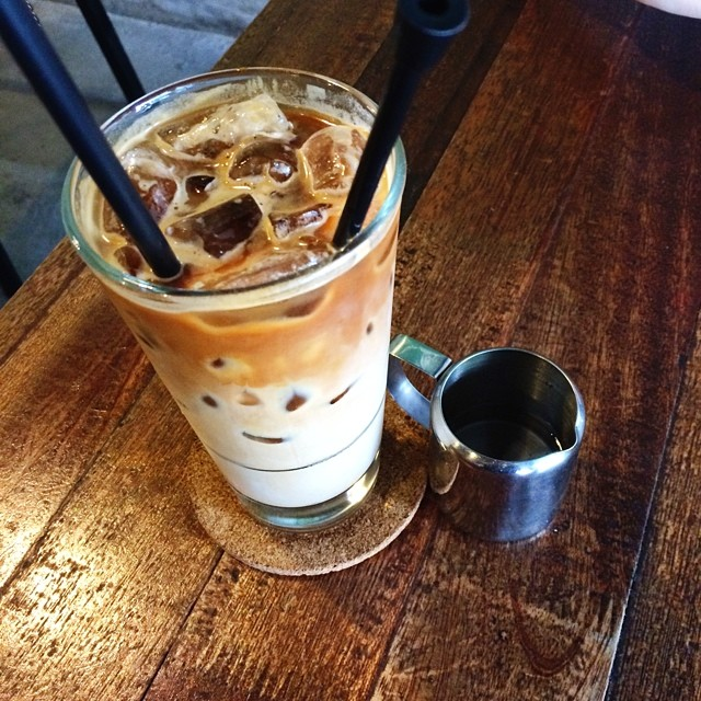 An Iced Cafe Latte To Jump Start The Afterno... (365/452