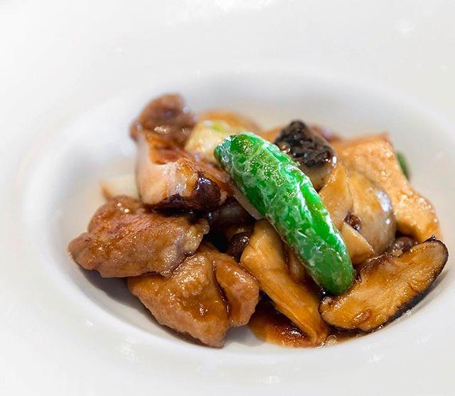 Stir-fried wagyu beef with green peppers (青椒炒和牛/和牛肉とピーマンの細切り炒め) - 四川飯店 Shisen Hanten**, Singapore #missneverfull_sg #missneverfull_shisenhanten
