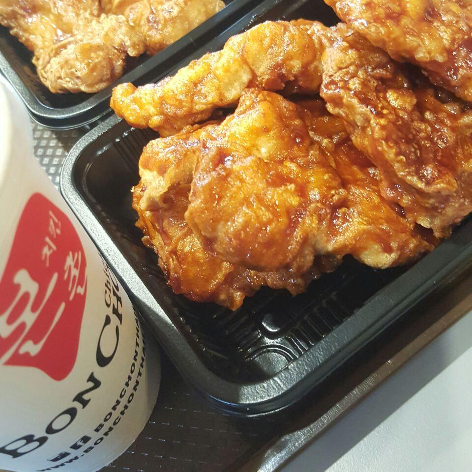 Korean Chicken & Fish Fillet