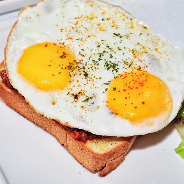 Bolognaise toast