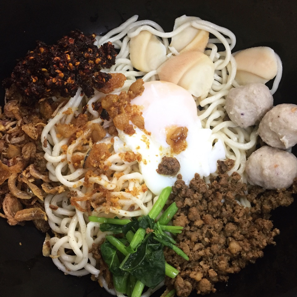 Clam Pan Mee (Dry)