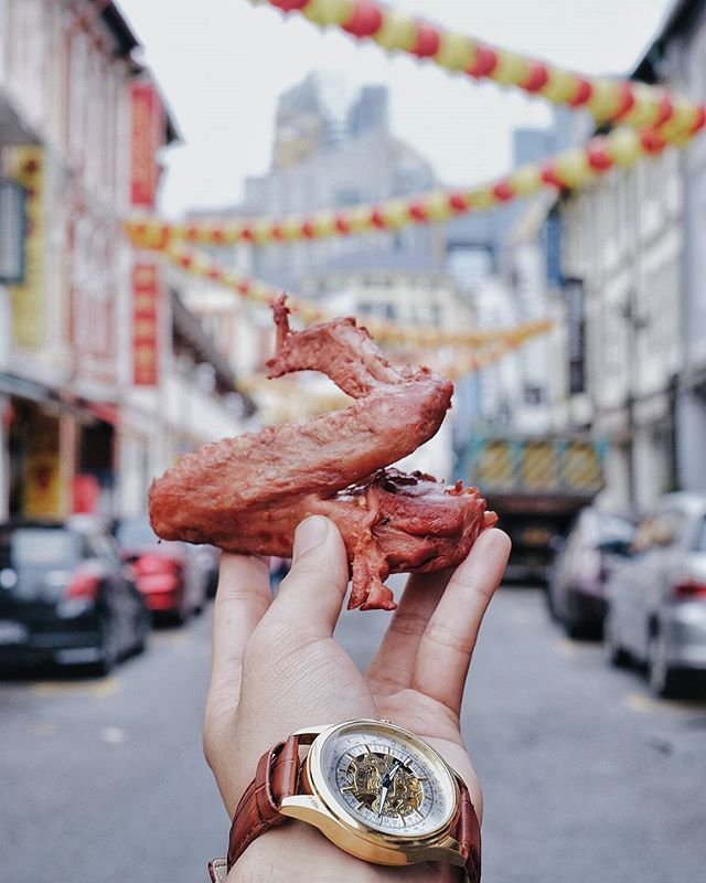 Chinese New Year's Resolution is TO EAT MORE CHICKEN 😂😂😂 .