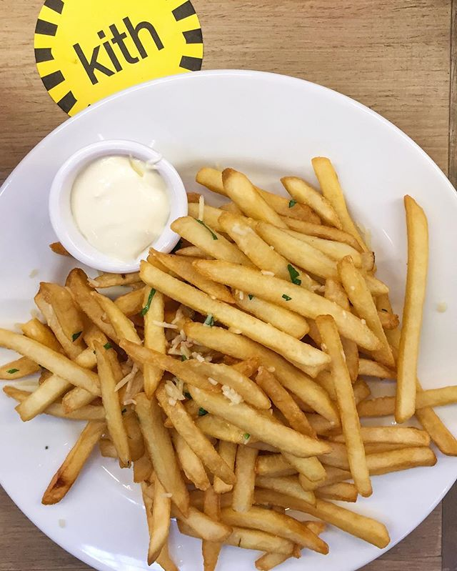 Truffle fries is the best invention of ALL TIME.