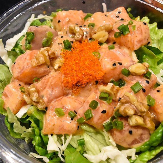 I want sashimi and poke bowl.
