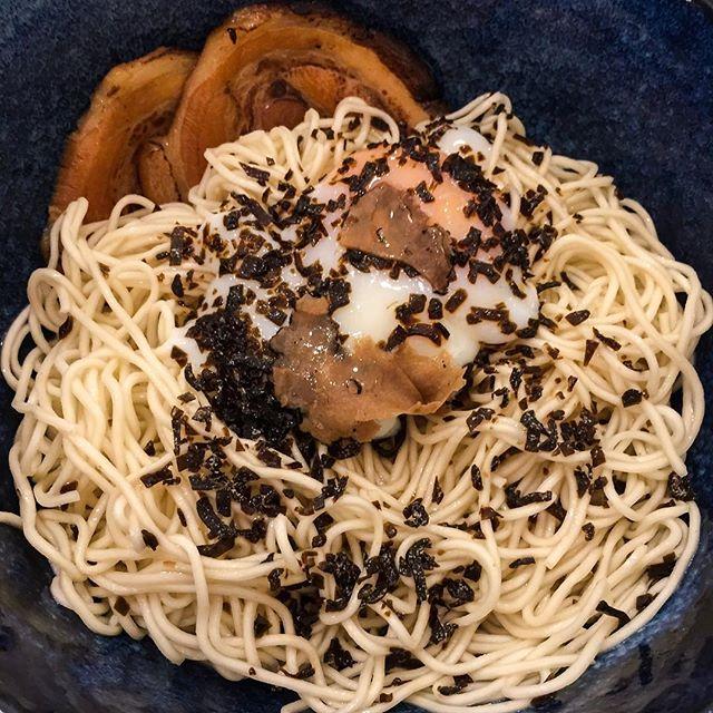 My favoritest hipster ramen - can't seem to get bored of this truffle ramen @kanshokuramen.