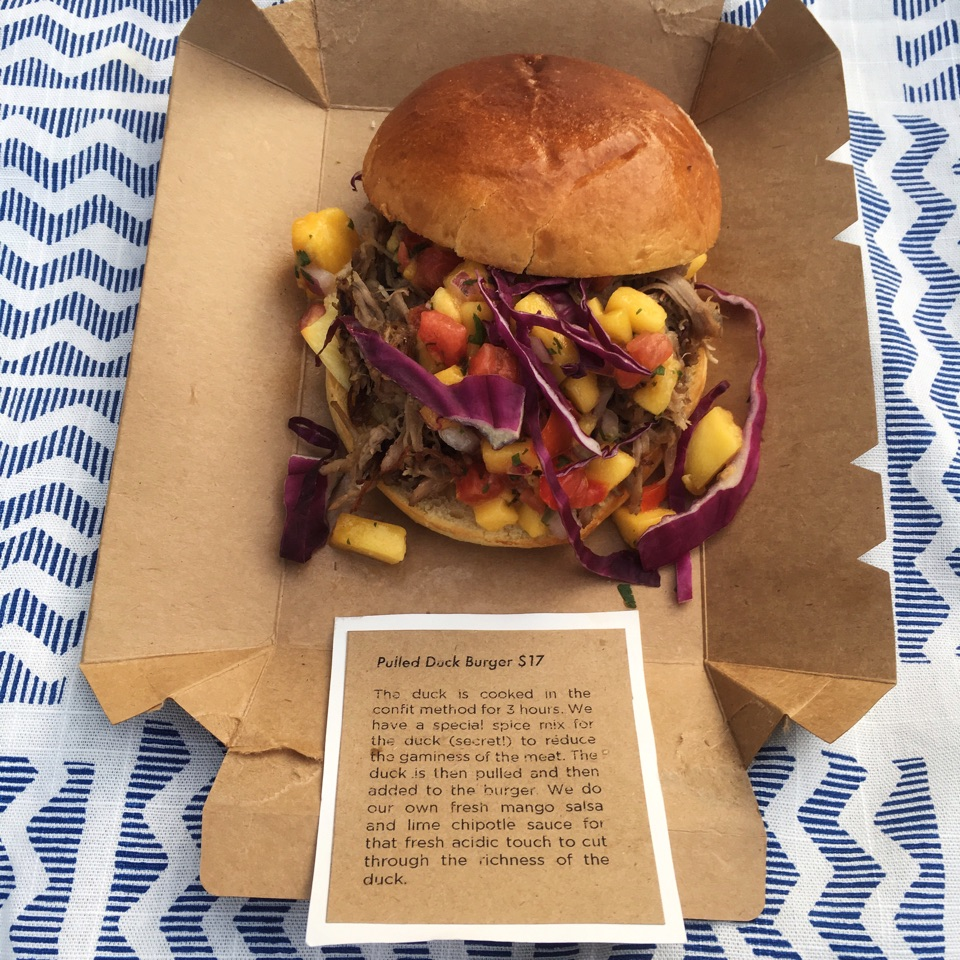 Picnic Basket Kuala Lumpur : Duck burger con fit for a king by russell leong